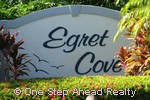 sign for Egret Cove of Baywinds