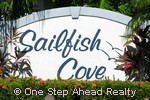 sign for Sailfish Cove of Baywinds
