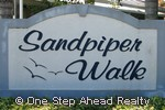 sign for Sandpiper Walk of Baywinds
